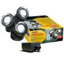 SET 3 SPOTS 12 LED + TRANSFO + CELLULE PHOTO